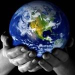 Globe In Hands Mar 15